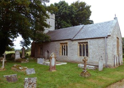 George Dawson-Damer - St Peter's Winterborne Came -1