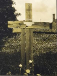 The grave at Marquione German cemetery