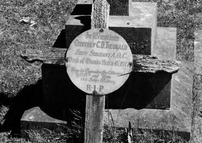 Woodbridge Cemetery - Geoffrey C Theobald 3