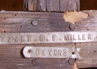 feature Harpford, Devon, St Gregory, WWI Battlefield Cross R F Miller, tags