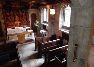 Gillingham_Location in side chapel