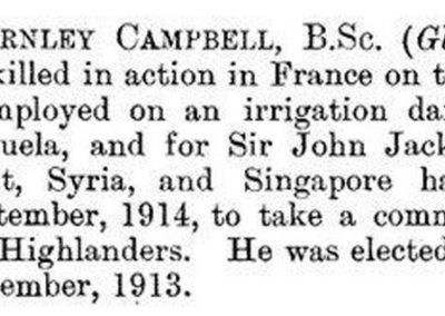 Obituary in the Minutes of the Proceedings of Civil Engineers - Vol201 Issue 1916, 1916