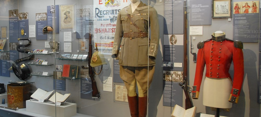 Leicester – Museum of The Royal Leicestershire Regiment, Leicestershire