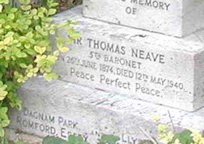 Llanwenllwyfo_Neave Thomas Headstone