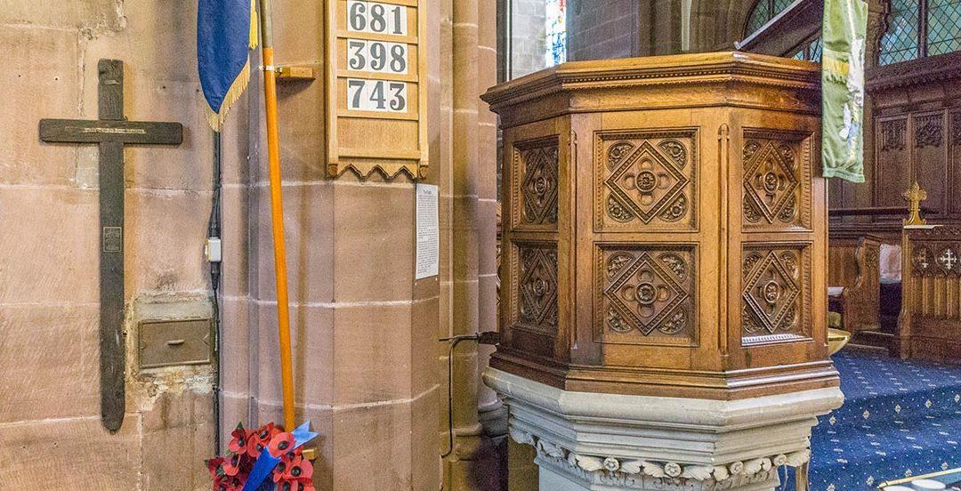Bromborough – St Barnabas Church, Cheshire