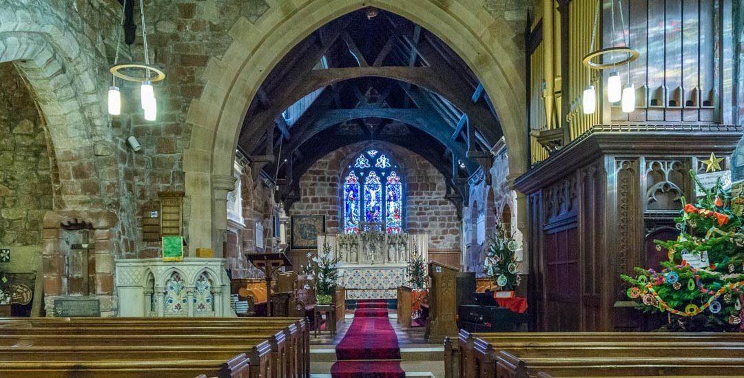 Ruyton-XI-Towns – St John the Baptist, Shropshire