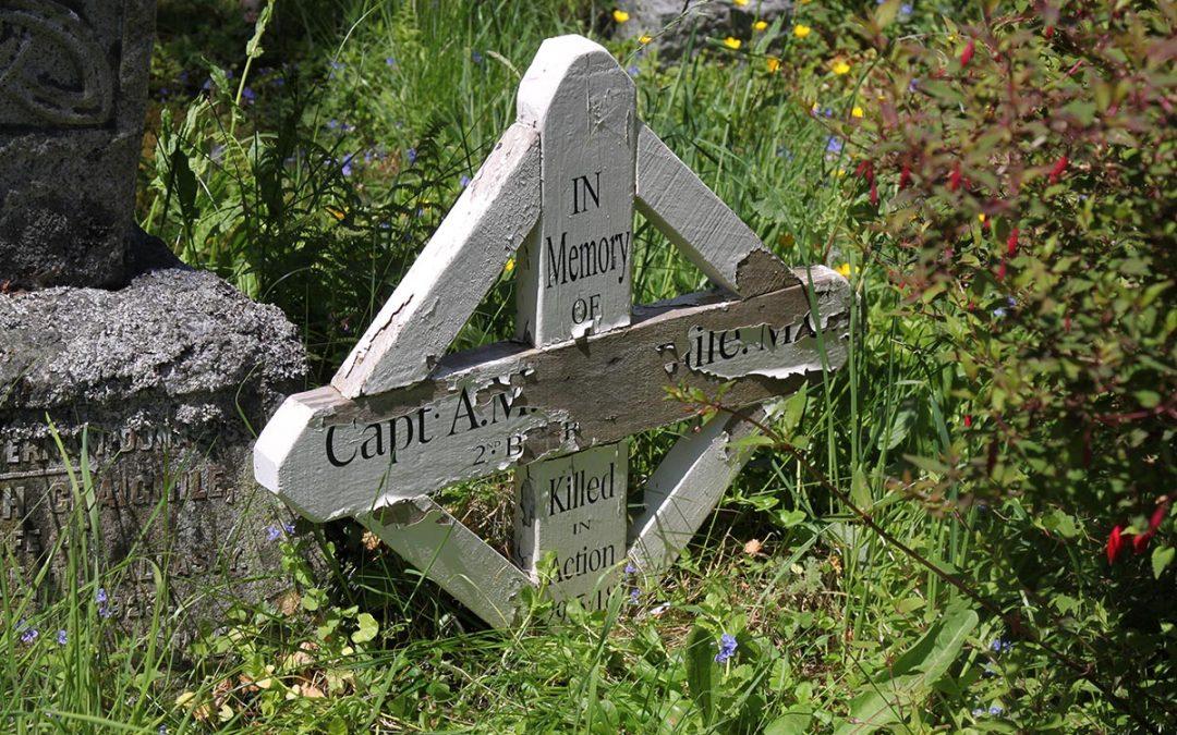 Llanbedr-Y-Cennin (St. Peter) Churchyard, Caernarvonshire