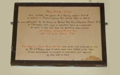 Bexley – Boys and Girls Memorial Hall, Kent